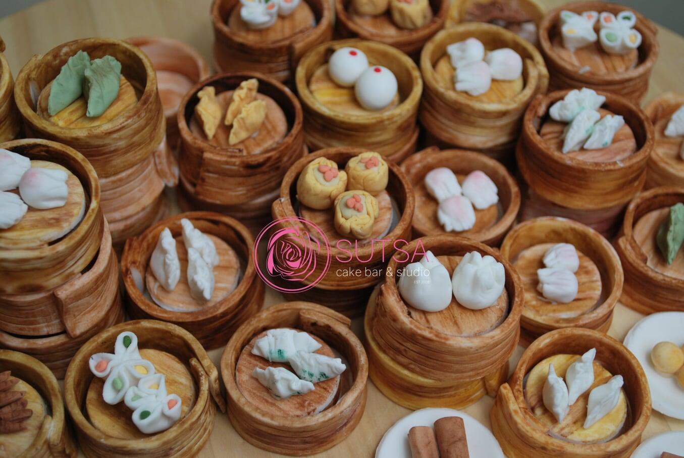Cake Decorating Workshop Miniature Yum Cha Figurines