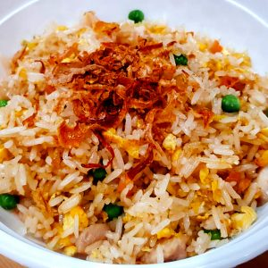 Salted Fish with Chicken Fried Rice